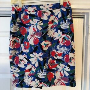 J Crew pencil skirt size 2